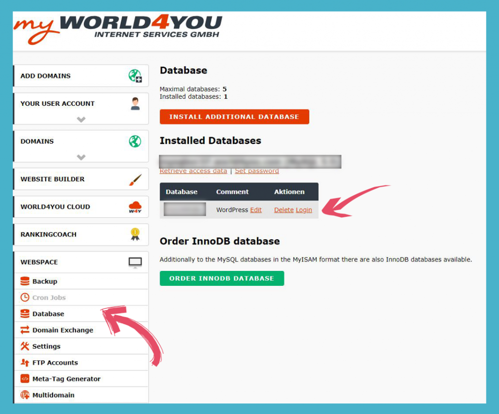 How to Do a Complete WordPress Website and MySQL Database Back up – Guide for World4You Customers