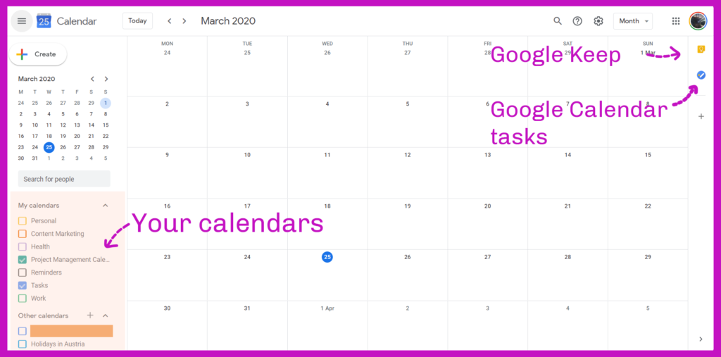 Using Google Calendar as a Project Management Tool - A Guide for Power Users