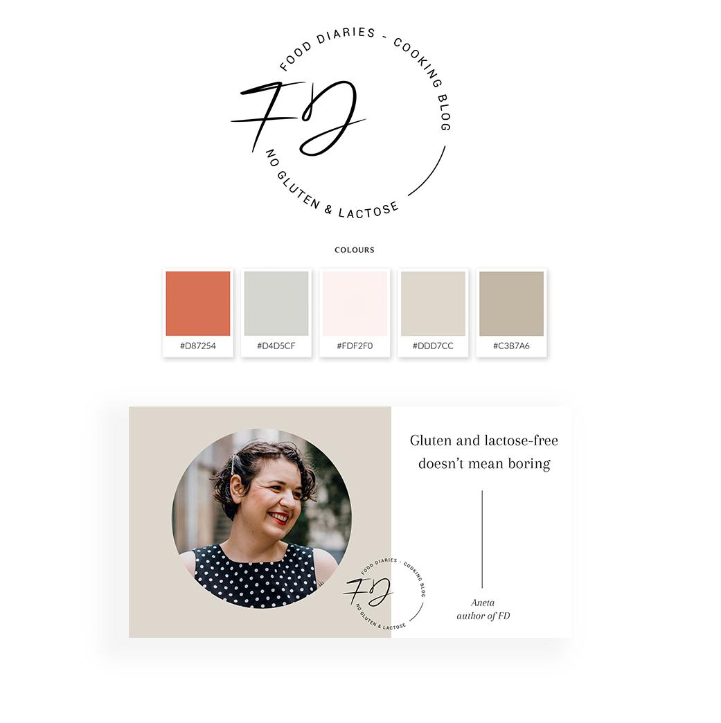 Food Diaries by Aneta Pawlik - Brand Board
