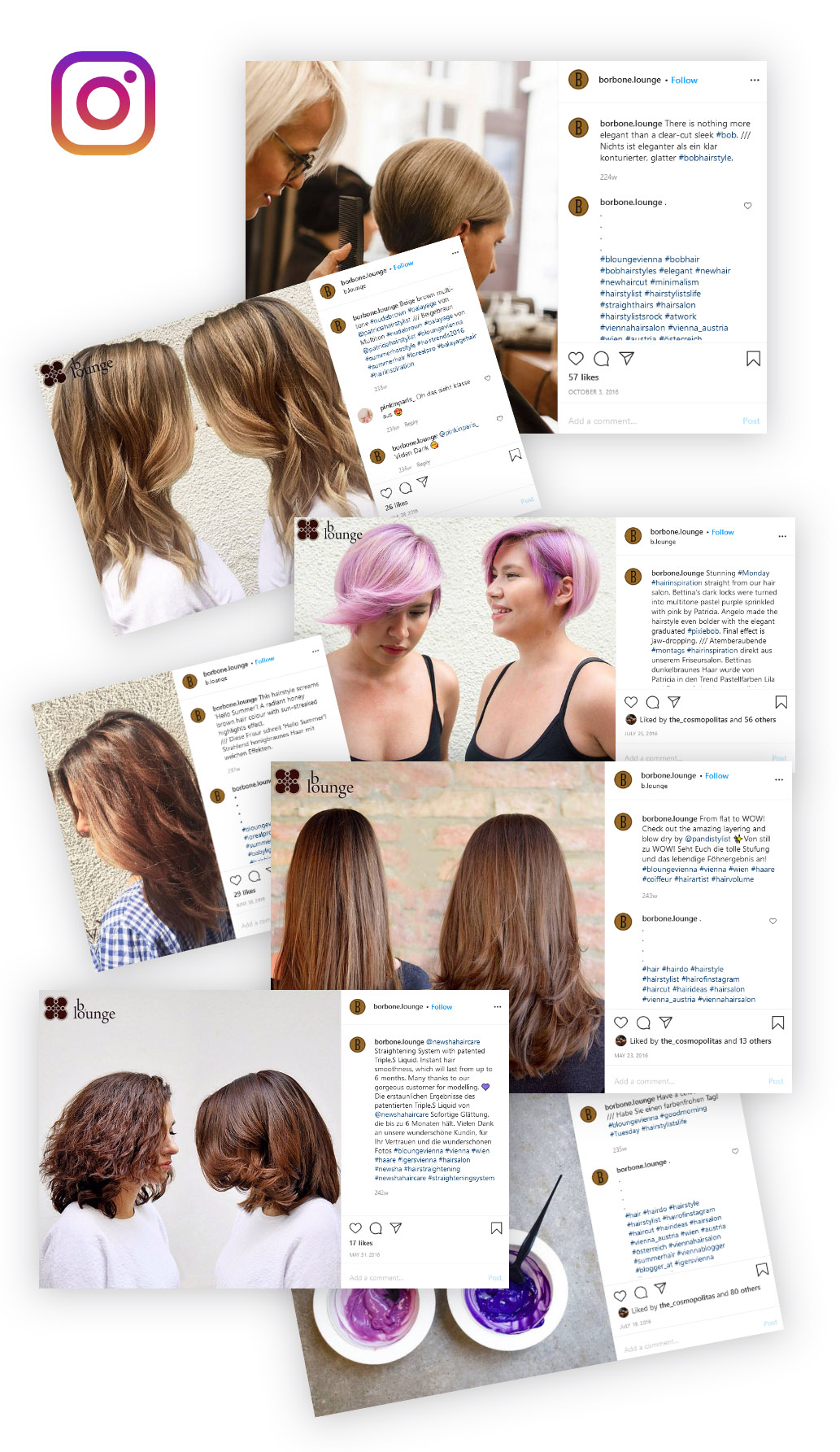 Social Media Management for a Viennese Hair Salon