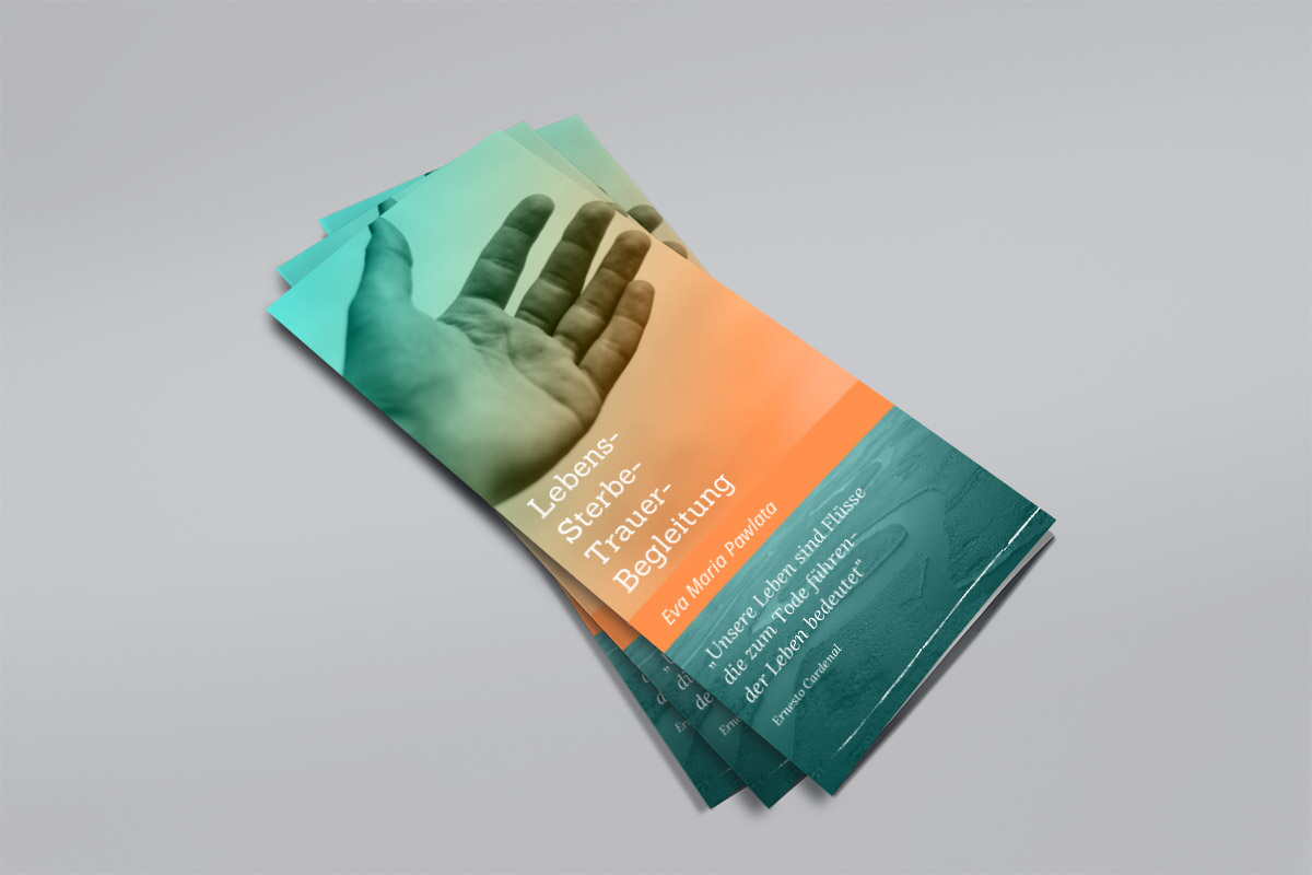 Printed Information Folder - Eva Maria Pawlata 1