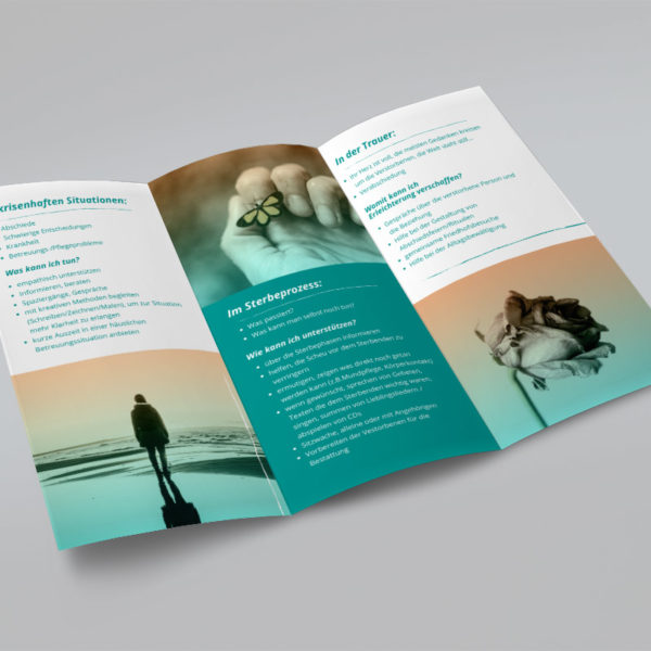 Printed Information Folder - Eva Maria Pawlata